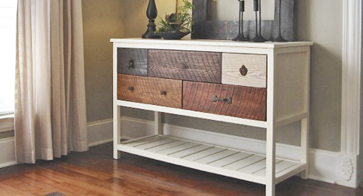 console table plans