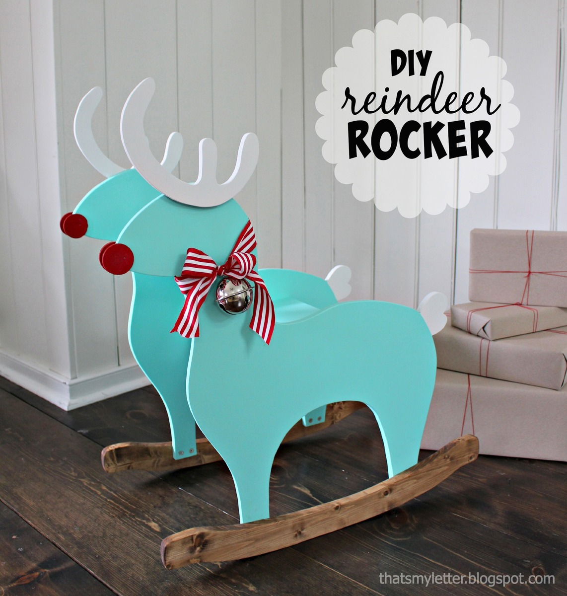 Ana White Reindeer Rocking Chair Diy Projects