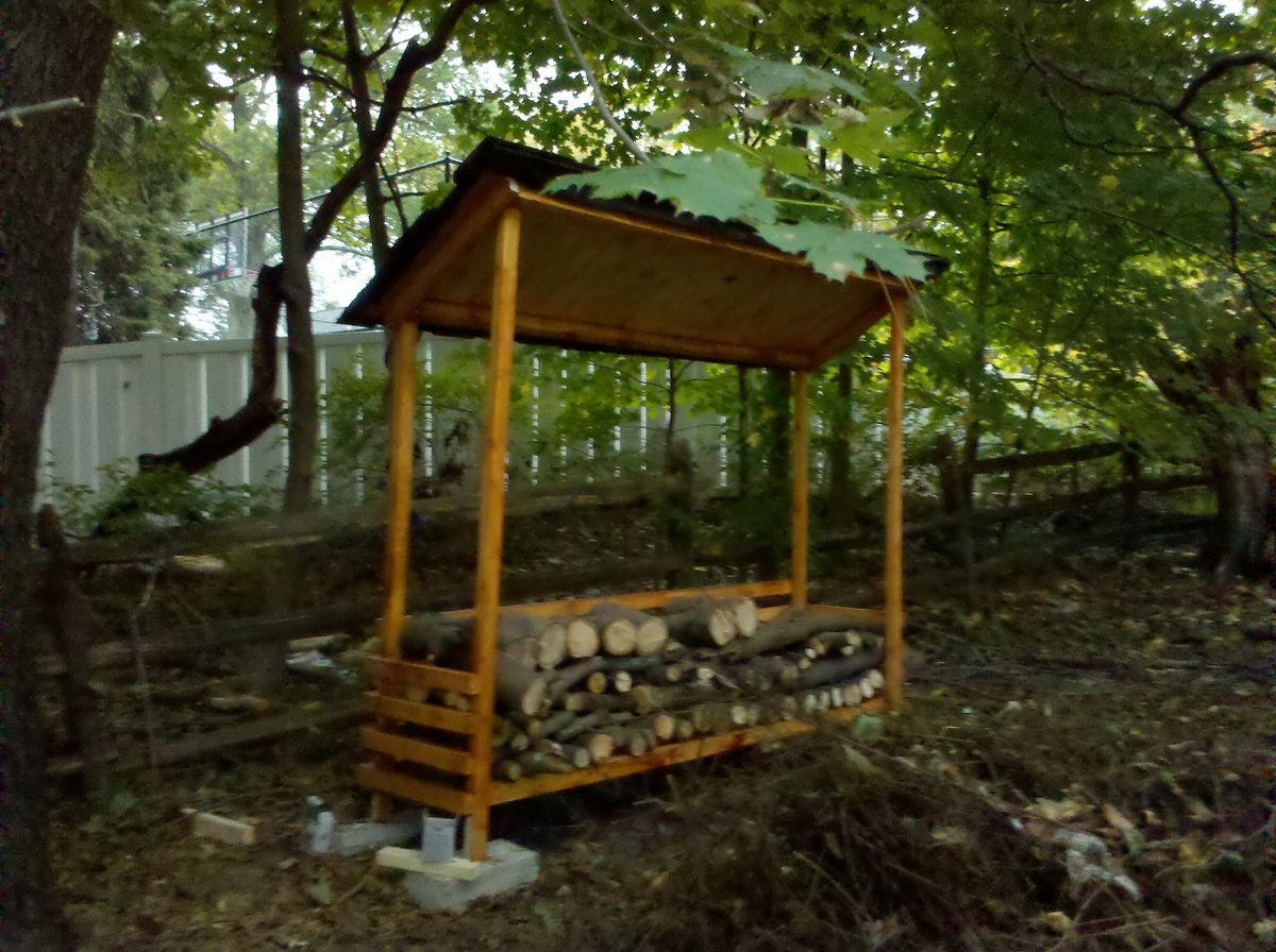 Firewood Shelter Designs