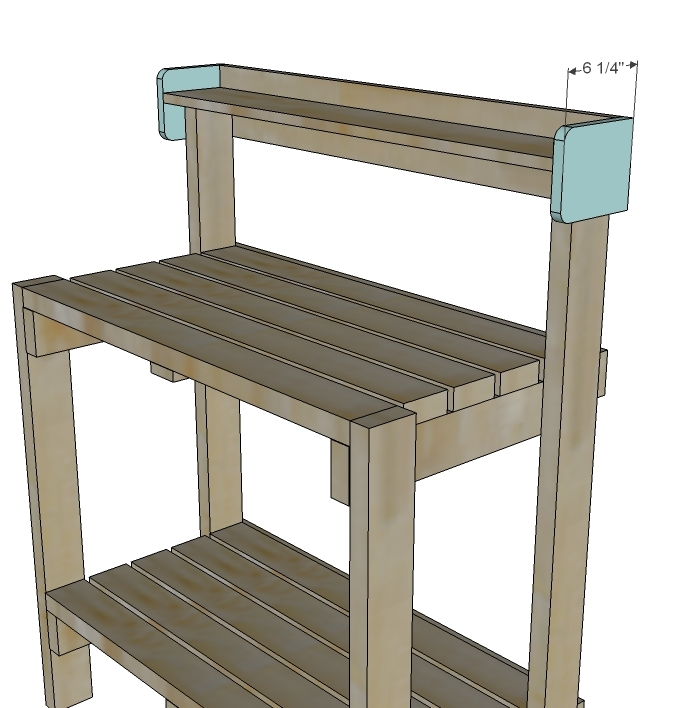 Free Garden Potting Bench Plans