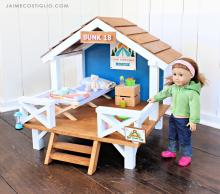 "Camp Hangout for 18"" or American Girl Dolls"