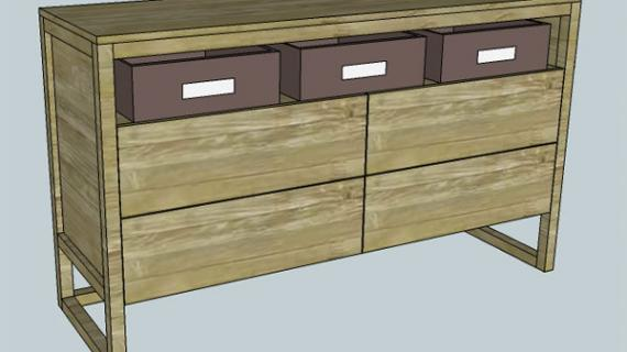 Finea 4-Drawer Dresser