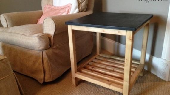 DIY End Table Plans | Rogue Engineer