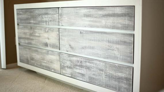 DIY 6 Drawer Dresser