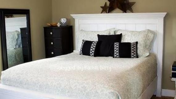 farmhouse bed full size plans