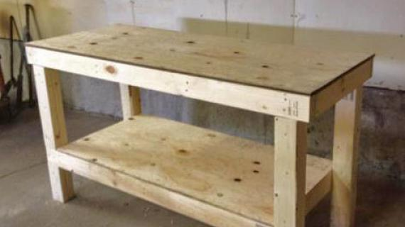 easy workbench diy