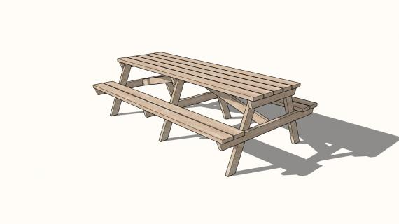 the best 8 foot picnic table plans
