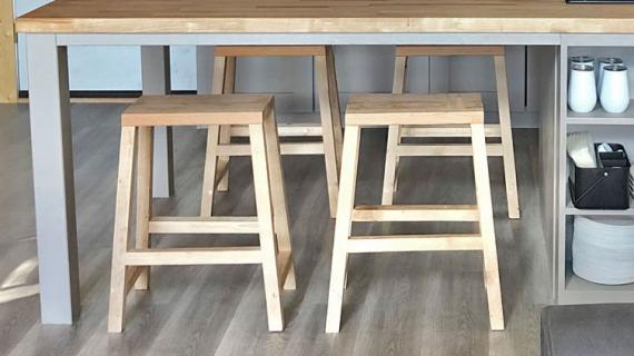 farmhouse counter stools