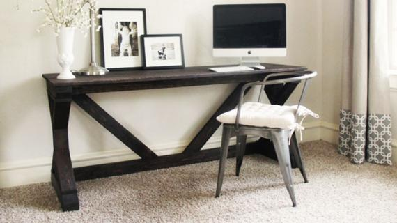 beautiful farmhouse desk