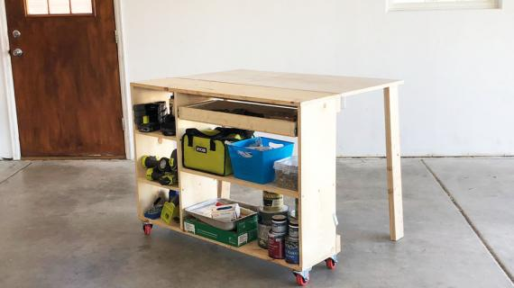 folding workstation