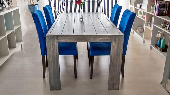 grey modern farm table