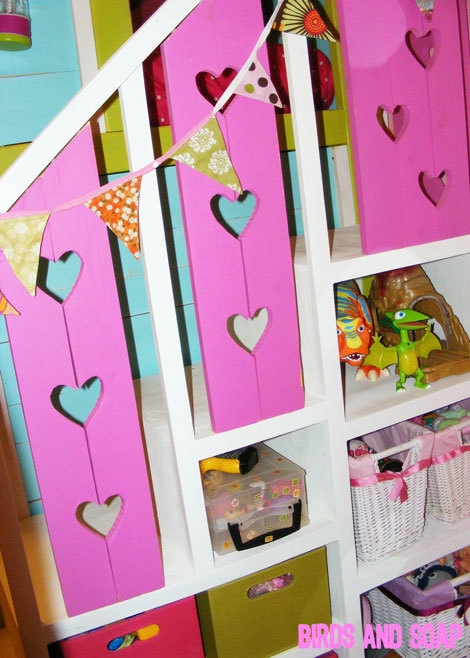 Trend Sweet Pea Garden Bunk Bed Storage Stairs