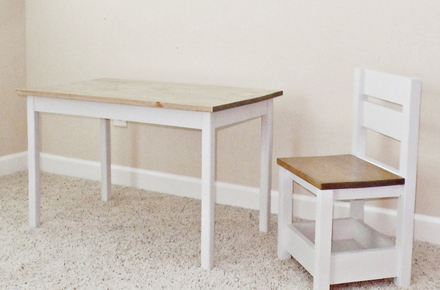 Storage Chair And Clara Table For Granddaughter S