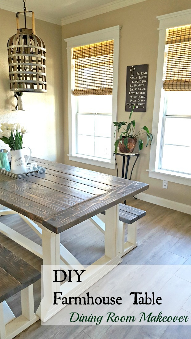 Ana White Rekourt Dining Room Table And Benches Diy Projects