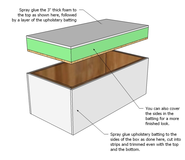 download plans storage ottoman plans free