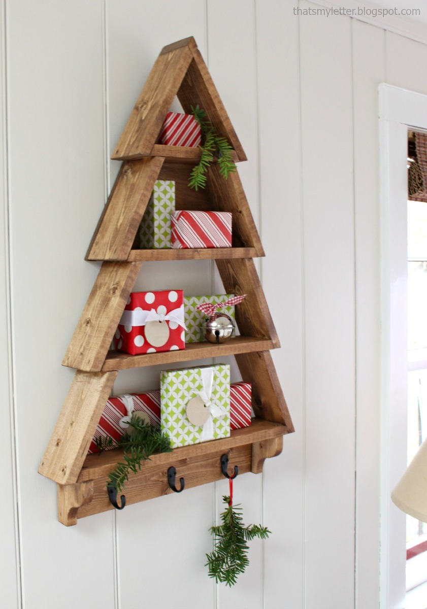 Ana White | Tree Wall Shelf - DIY Projects
