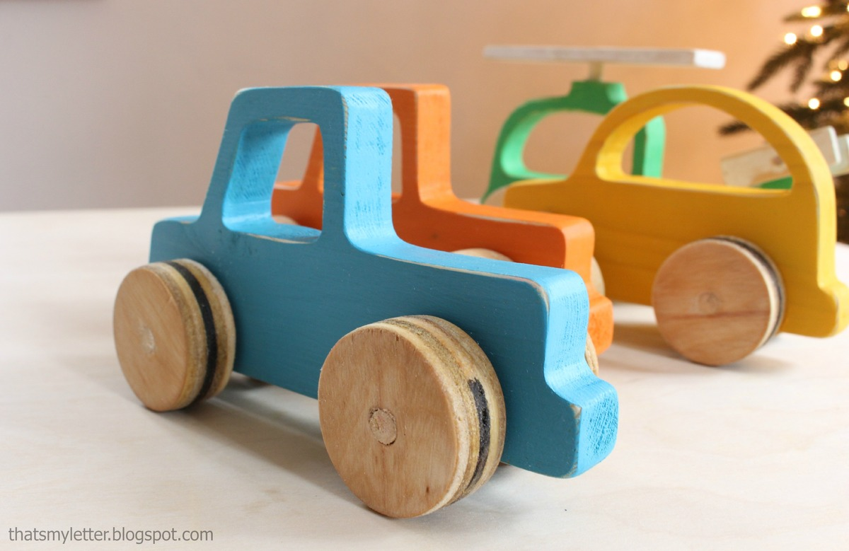 DIY toys: we make with a child