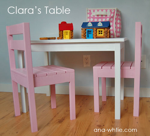 plans for children furniture