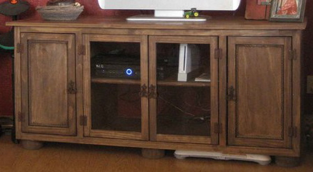 Tv Console Furniture Plans